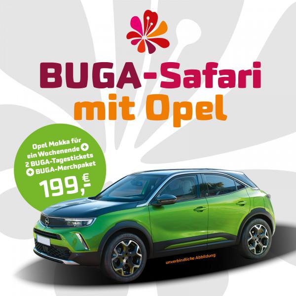 BUGA-Safari mit Opel