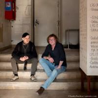 Steffen Mensching und Hans-Eckardt Wenzel