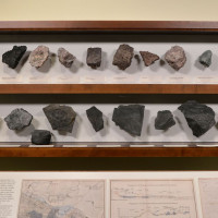 Goethe und Mahr als Fossiliensammler